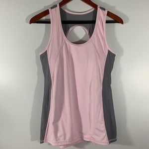 KYODAN . Racerback Built in Bra Tank Top . L